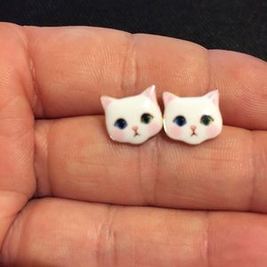 🐈 New list! 🐈 Sweet kitty earrings!